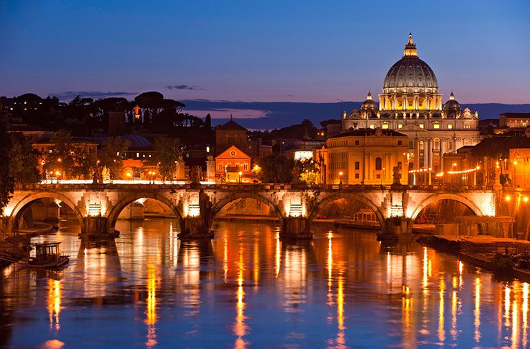 Photo of Italy from travel industry website