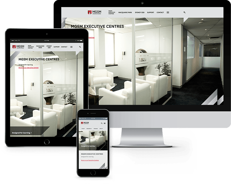 Sydney conferences centre website case study