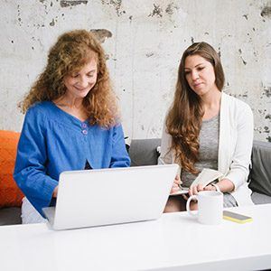two women in UX agency in Sydney