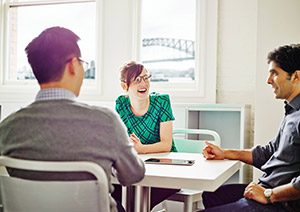 User testing experts in Sydney office