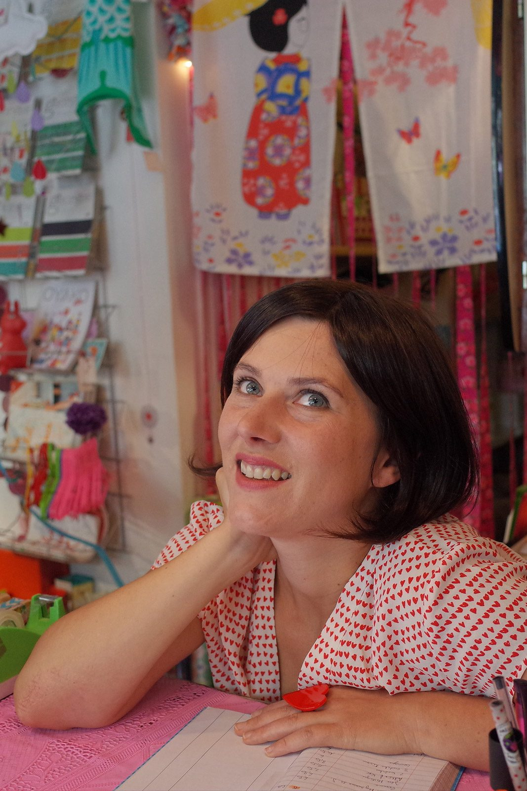 Small business owner in her shop